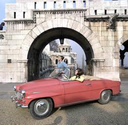 Közlekedés - Skoda Felicia gépkocsi reklám