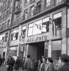 Belpolitika - '56-os forradalom - Az MTI épülete