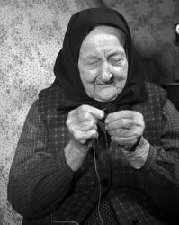 Ritkaság - Kazi Márkné Csongrád megye legidősebb asszonya