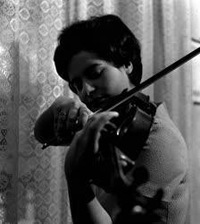 Gyarmati Vera hegedűművész