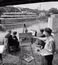 Művészet - Az Óbudai Hajógyár munkás képzőművészeti köre