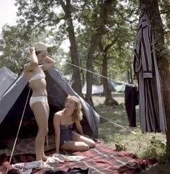 Szabadidő - Megnyílt a sástói sátortábor