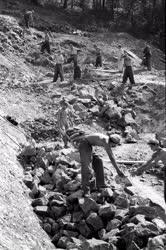 Bányászat - A komlói kőbányában