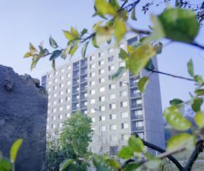 Városkép - Komlói házak