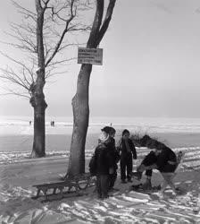 Szabadidő -  Téli üdülés a Balatonon