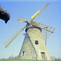 Városkép - Műemlék - A Sáfrik-féle szélmalom Kiskunhalason