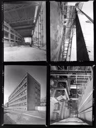 Ipar - Építkezés - Tiszapalkonya Hőerőmű - Gyárépületek