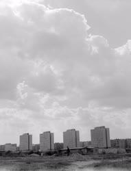 Városkép - Toronyházak Dunaújvároson