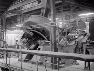 Ipar - Műtrágya gyártás a Budapesti Vegyiművekben