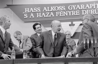 Belpolitika - A Hazafias Népfront VII. kongresszusán