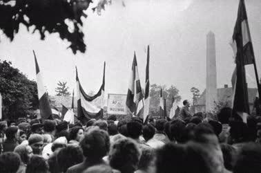 Belpolitika - 1956 - A mosonmagyaróvári sortűz