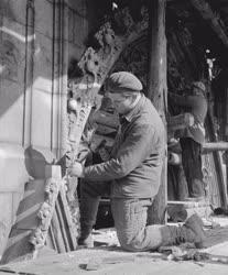 Kultúra - A Mátyás-templom Mária-kapujának renoválása