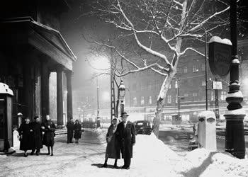 Időjárás - A havas Budapest