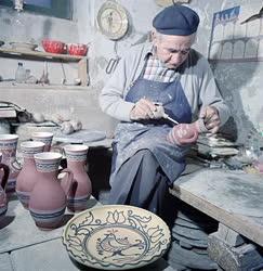 Folklór - Steig István fazekas