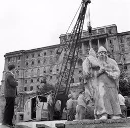 Kultúra - Épül a Dózsa György-emlékmű Budapesten
