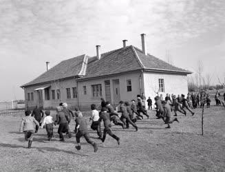 Oktatás - A zsanapusztai iskola