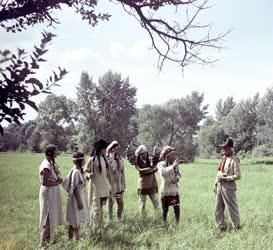 Szabadidő - Játék - Indián tábor a Kőgeszteli-szigeten