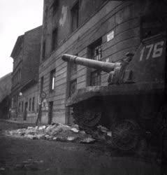 Ötvenhat emléke - Szovjet önjáró löveg Budapesten