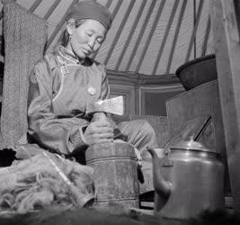 Életkép - Mongólia - Család