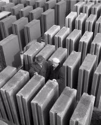 Ipar - Épületelemeket előregyártó telep