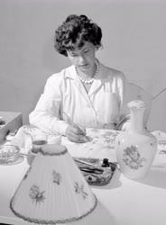 Kultúra - Iparművészet - Munka a Kerámia Iparművész Háziipari Termelő Szövetkezetben