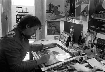 Rófusz Ferenc  Oscar-díjas rajzfilmrendező