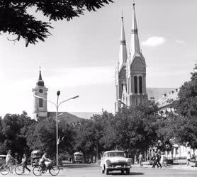 Városkép - Békéscsaba - István király tér