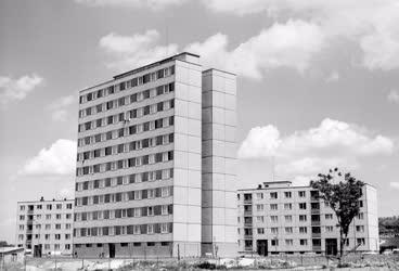 Városkép - Lakótelep Ajkán