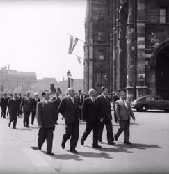 Külkapcsolat - Lengyel párt- és kormányküldöttség Budapesten