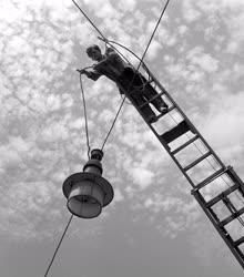 Energia - Közvilágítás a Közvágóhídi HÉV végállomásnál