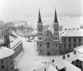 Időjárás - Városkép - Esztergom télen