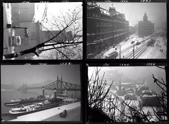 Városkép - Életkép - Téli budapesti képek