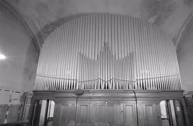 Hangszerek - Templomi orgona