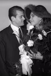 Életkép - Esküvő - Színész-sportoló házasság