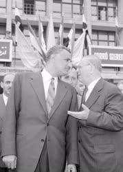 Külkapcsolat - Nasszer elnök Budapesten