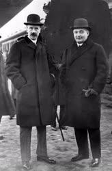Történelem - Gróf Bethlen István és Villani Frigyes