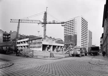Városkép - Lakótelep épül a Józsefvárosban