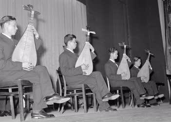 Külkapcsolat - Kultúra - Kínai népi zenekar előadása