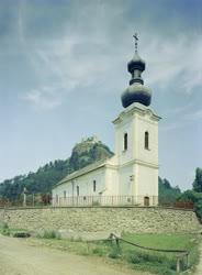 Városkép - Katolikus templom Füzéren