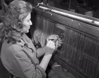 Ipar - Oktatás - Goldberger Textilművek technikuma