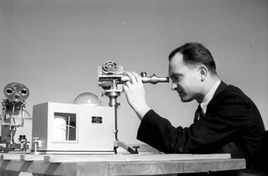 Tudomány - Országos Meteorológiai Intézet - Napsugárzás mérése