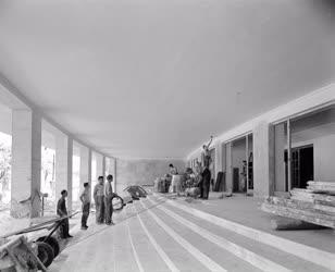 Építőipar - kultúra - Az Erkel Színház átépítése