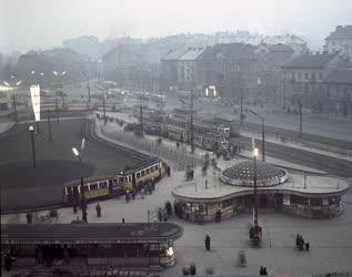 Városkép - Budapest - Moszkva tér
