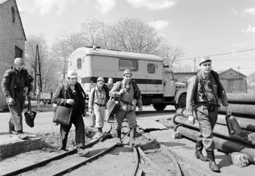 Baleset-katasztrófa - Bányamentők