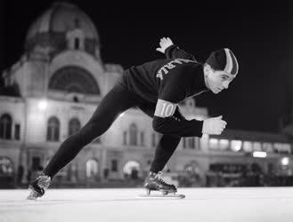 Sport - Gyorskorcsolya - Bp. Petőfi idénynyitó verseny