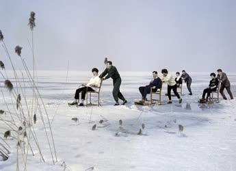 Szabadidő - Téli üdülők a Balatonon