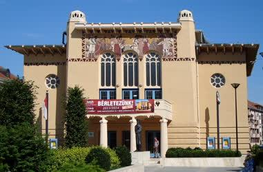 Épület - Sopron - Petőfi Színház