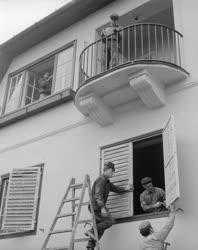 Idegenforgalom - Túrista szálló felújítás Szentendrén