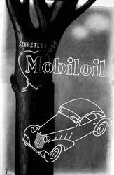Gazdaság - Reklám - Mobiloil-plakát