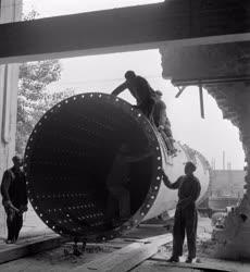 Ipar - Malomipar - Hejőcsabai Cement és Mészmű építési mu